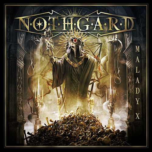 Epic melodic Death Metallers NOTHGARD releases track-by-track videos