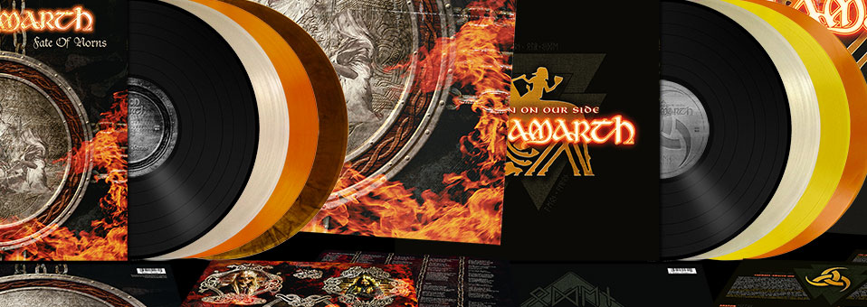 Metal Blade to re-issue the next two AMON AMARTH albums 'Fate Of Norns' and 'With Oden On Our Side' on vinyl as part of their Originals-series!