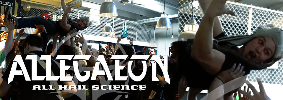 "ALLEGAEON stellen ""All Hail Science"" Performancevideo online!"
