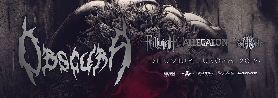 ALLEGAEON kommen nächsten Februar nach Europa zurück auf Tour mit OBSCURA!