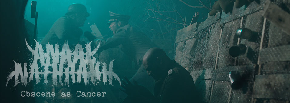 ANAAL NATHRAKH launches video for new single 'Obscene as Cancer'!