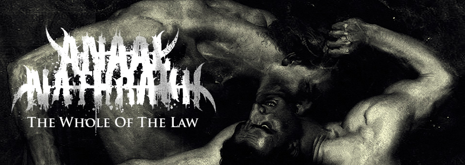 ANAAL NATHRAKH streamen neues Album, 'The Whole of the Law', online!