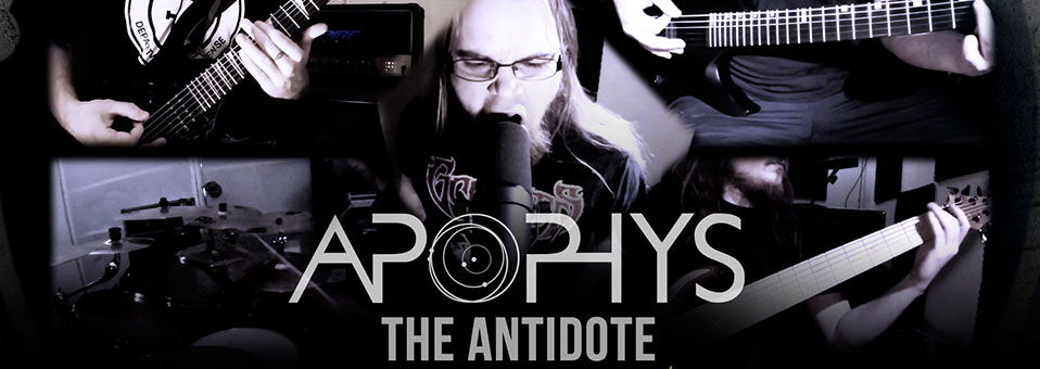 APOPHYS: Die niederländische Death-Metal-Einheit enthüllt 'The Antidote' Play-Through Video auf Gear Gods