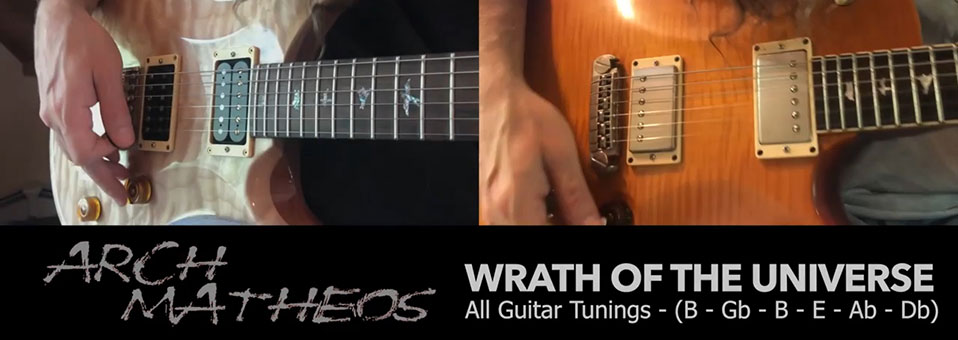 "Arch / Matheos veröffentlichen playthrough-Video zu ""Wrath of the Universe""!"