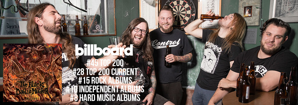 The Black Dahlia Murder debut at #45 on the Billboard Top 200 Chart and at #66 on the official German album charts!
