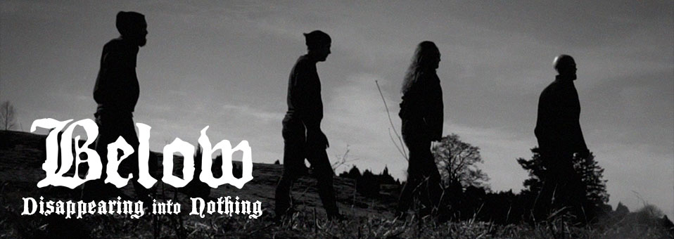 BELOW veröffentlichen Video zu 'Disappearing into Nothing'!