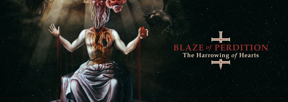"Blaze of Perdition launchen Livevideo zur ersten Single ""Transmutation Of Sins""!"