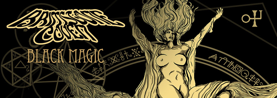 BRIMSTONE COVEN streams new album, 'Black Magic', in its entirety!
