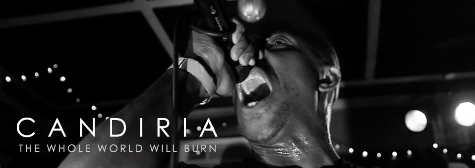 CANDIRIA premieres 'The Whole World Will Burn' video via MetalInjection.net!