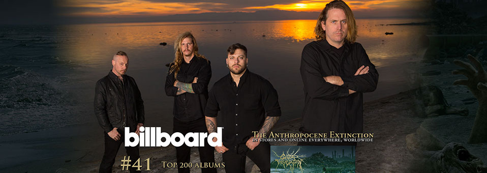 "CATTLE DECAPITATION: ""The Anthropocene Extinction"" First-Week Chart Numbers Revealed!"