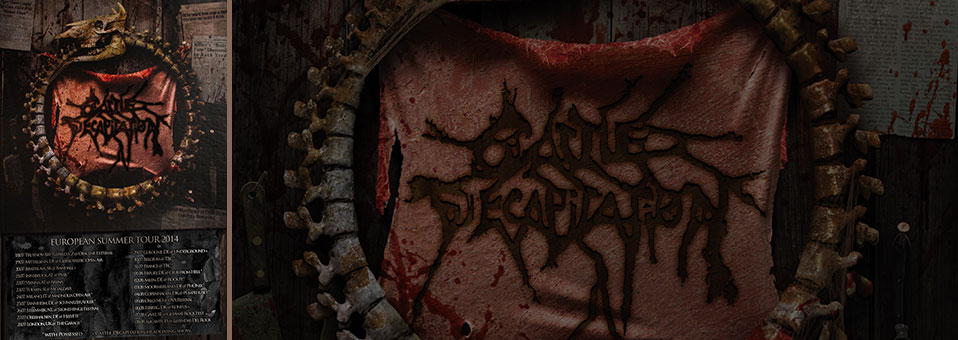 CATTLE DECAPITATION to return to Europe for a string of summer festivals and club shows!