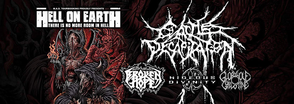 CATTLE DECAPITATION to headline full European 'Hell On Earth' tour in September!