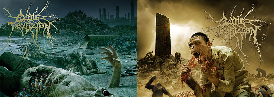 Cattle Decapitation's 'Monolith of Inhumanity', 'The Anthropocene Extinction' vinyl re-issues now available via Metal Blade Records!