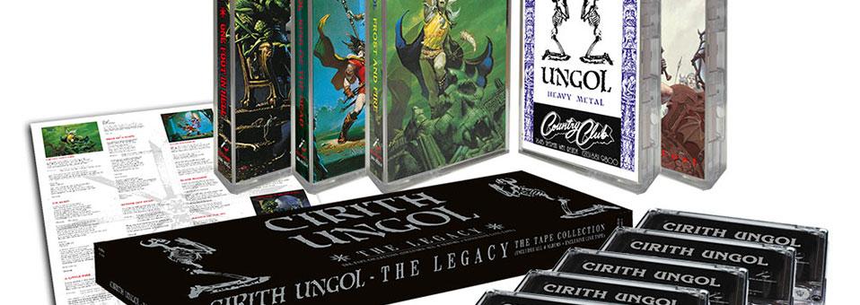 CIRITH UNGOL releases tape boxset 'The Legacy'