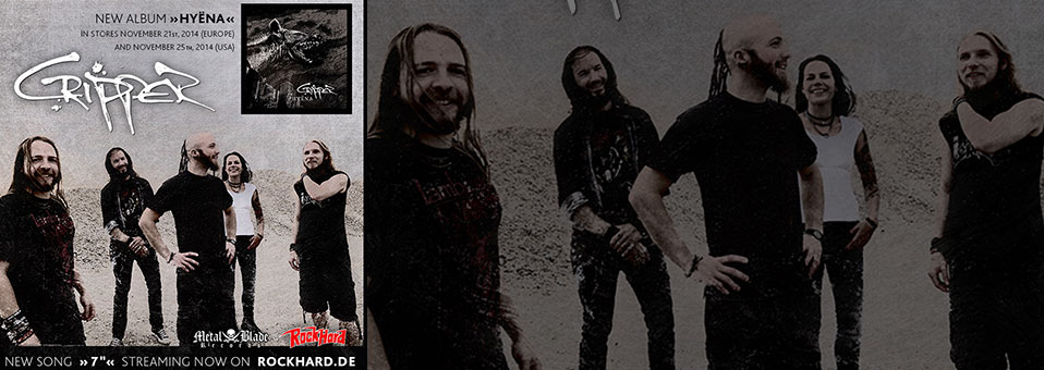 CRIPPER launches new song 7″ via Rock Hard Germany!