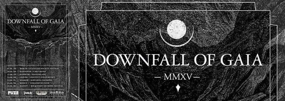 DOWNFALL OF GAIA announces European tour in August!