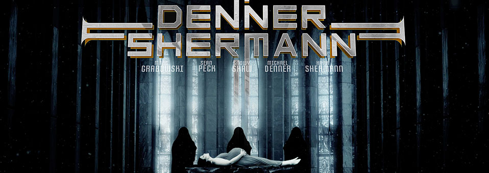 "Denner / Shermann stellen neues video zum song ""Son of Satan"""