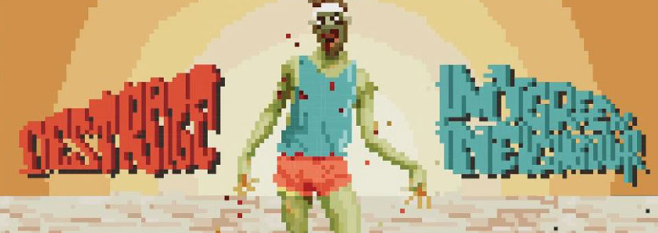 DESTRAGE has launched an 8-bit version of 'My Green Neighbour'