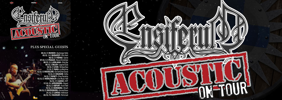 ENSIFERUM Acoustic – first time on tour in Europe in December 2018!