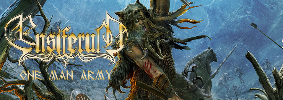 ENSIFERUM: Finnish folk metallers unveil 'One Man Army' studio footage!