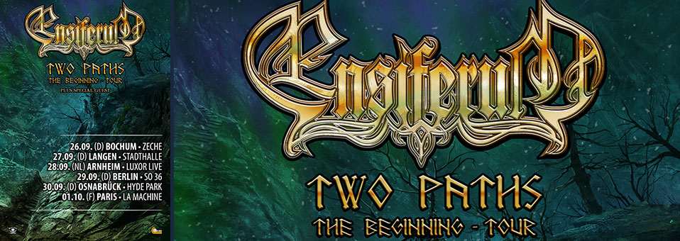 ENSIFERUM spielen 'Two Paths: The Beginning' Headlinershows im September!