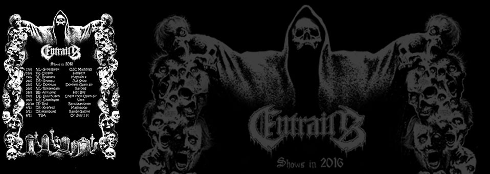 ENTRAILS announces a dozen of Death Metal shows for the summer and fall!