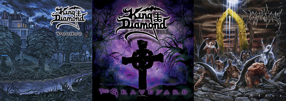 Metal Blade to re-issue IMMOLATION and KING DIAMOND vinyl on the 24th of this month!