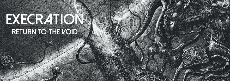 EXECRATION announces new album 'Return to the Void' for release on July 14th!