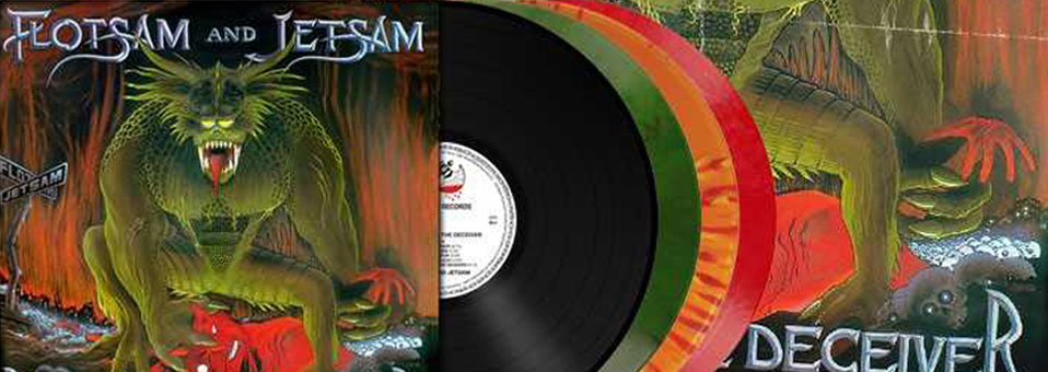 Metal Blade legen den FLOTSAM AND JETSAM Klassiker 'Doomsday for the Deceiver' am 27. April auf Vinyl und Digi-CD neu auf!