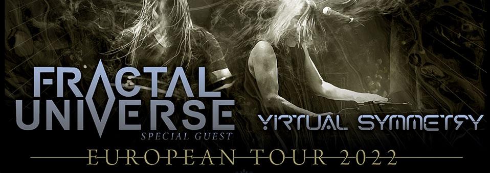 Fractal Universe als Support für Evergrey Tour 2022 bestätigt!