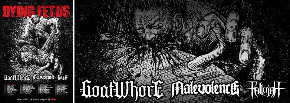 GOATWHORE confirmed as main support on DYING FETUS European tour in November/December!