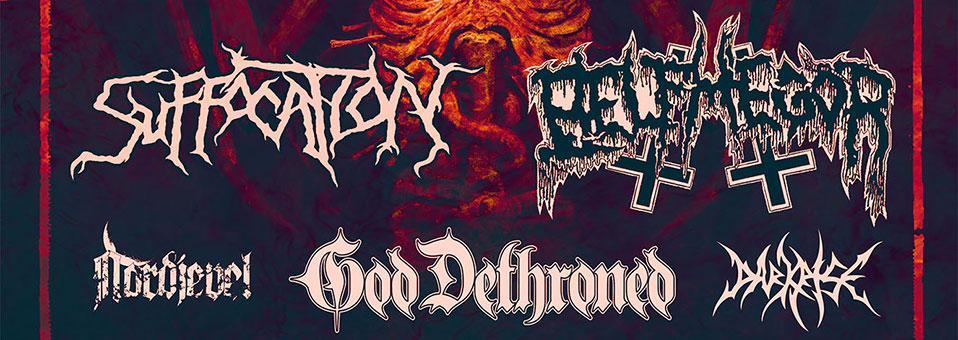 GOD DETHRONED announces European tour in support of SUFFOCATION!
