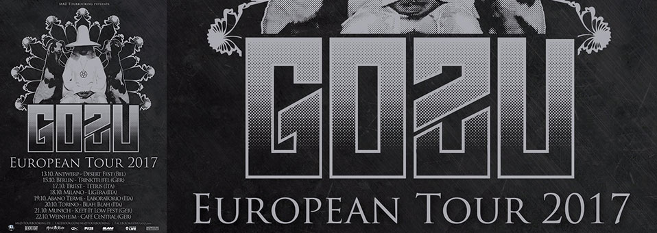 GOZU European tour coming up next week!