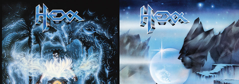 Metal Blade to re-issue classic HEXX albums 'No Escape' and 'Under The Spell' on vinyl!