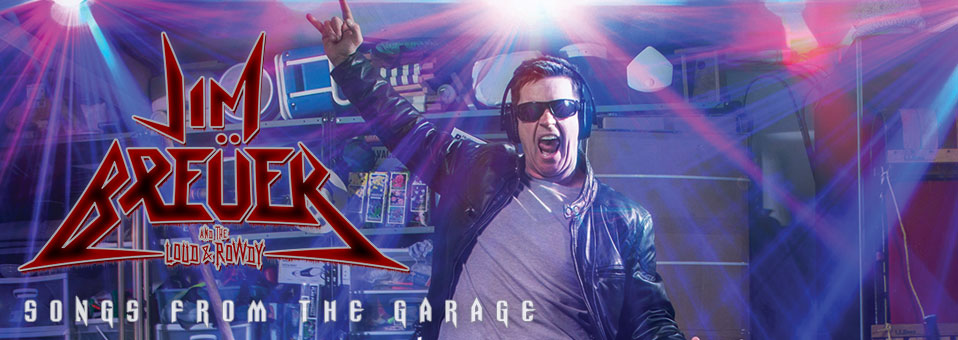 "Jim Breuer and The Loud & Rowdy stream new album, ""Songs From The Garage"", via Pandora"