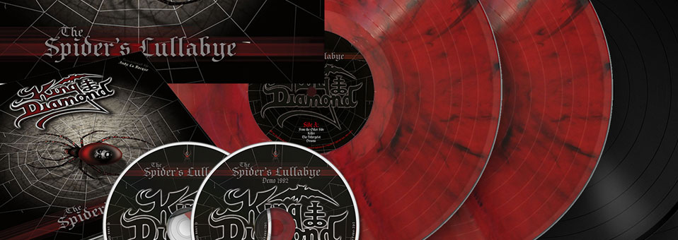 "Metal Blade to re-issue KING DIAMOND's ""The Spider's Lullabye"" on vinyl and CD with exclusive and rare bonus footage!"