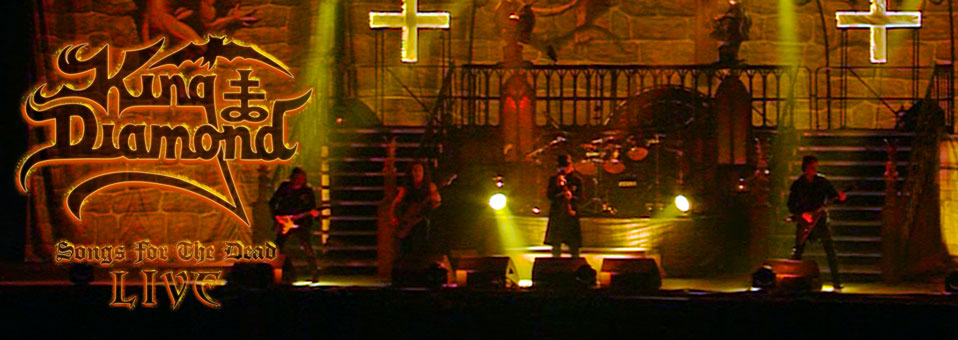 KING DIAMOND kündigt neue DVD/Blu-ray 'Songs For The Dead Live' an!