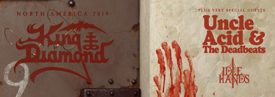 King Diamond kündigt Nordamerikatour mit Uncle Acid & the Deadbeats und Idle Hands an