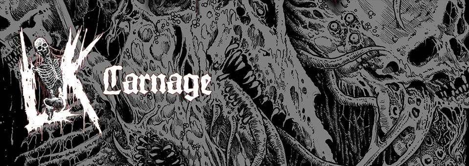 LIK announces new album 'Carnage' for a May 4th release!