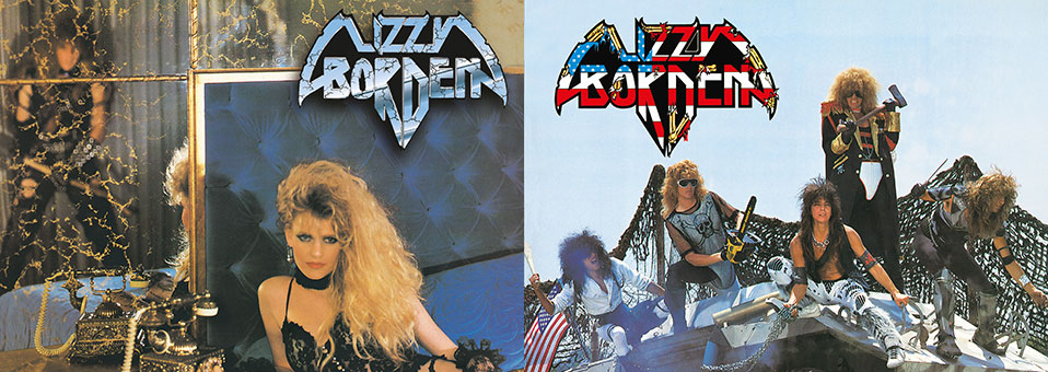 Metal Blade legen die LIZZY BORDEN Alben 'Love You to Pieces' und 'Menace to Society' am 13. April auf Vinyl neu auf!