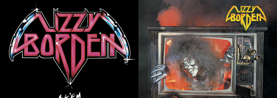 Lizzy Borden: 'Give 'Em the Axe', 'Visual Lies' vinyl re-issues now available via Metal Blade Records