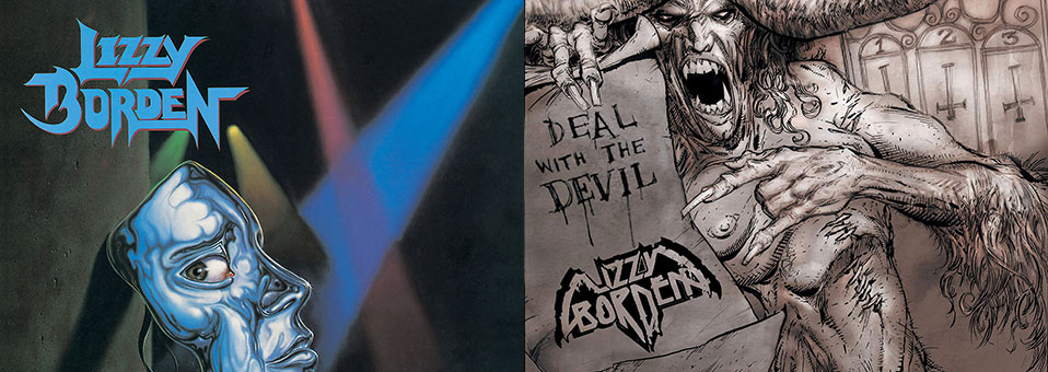 Lizzy Borden: 'Master of Disguise', 'Deal with the Devil' vinyl re-issues now available via Metal Blade Records