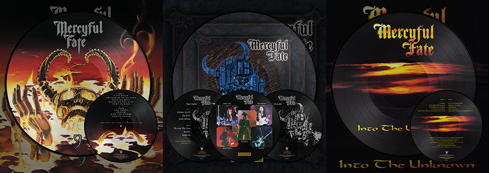 MERCYFUL FATE: '9′, 'Dead Again', und 'Into the Unknown' LP Reissues ab sofort erhältlich über Metal Blade Records!