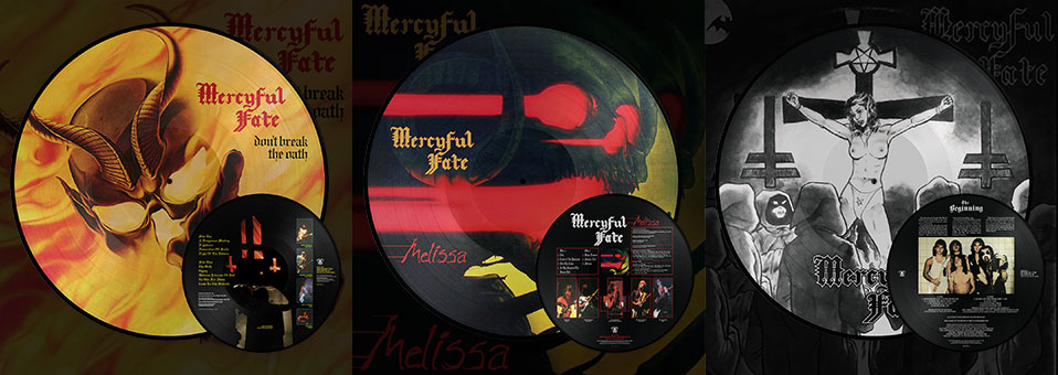 MERCYFUL FATE: 'Don't Break the Oath', 'Melissa', 'The Beginning' LP re-issues now available via Metal Blade Records