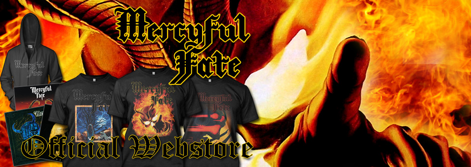 Metal Blade launches brand new MERCYFUL FATE online store!