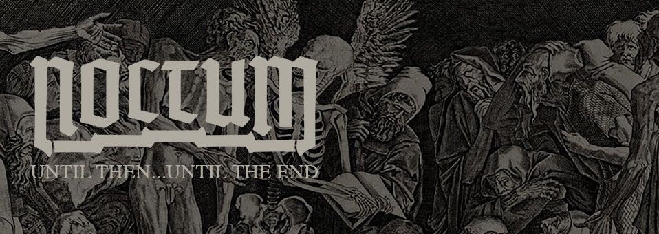 NOCTUM kündigen 'Until Then…Until The End' 7″-Single an!