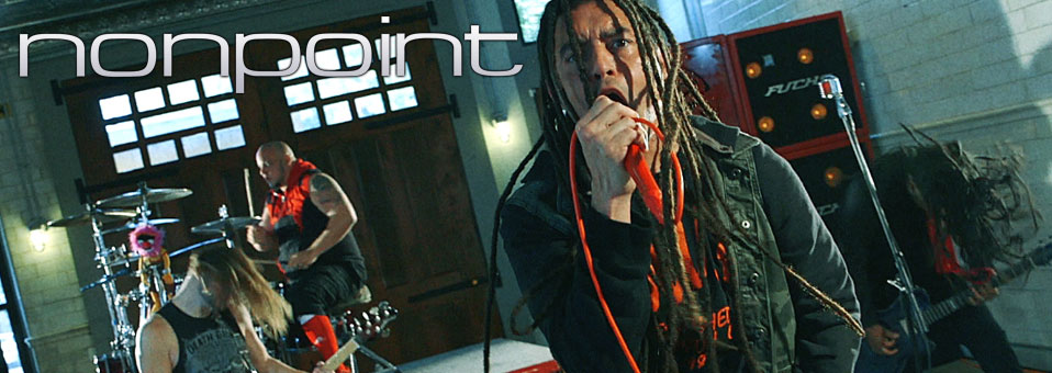 NONPOINT debut 'Breaking Skin' video!