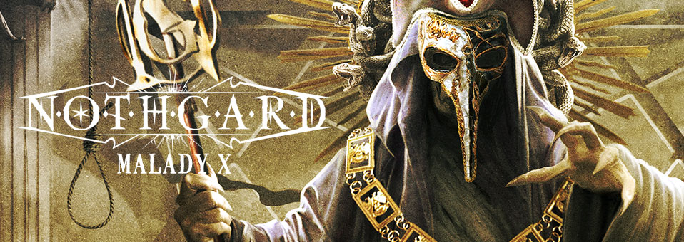 Epic melodic Death Metallers NOTHGARD releases track-by-track videos for new album 'Malady X'!