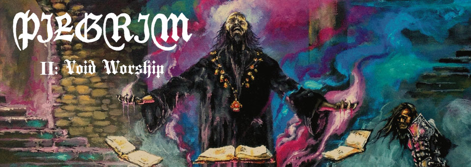 PILGRIM to release sophomore full-length 'II: Void Worship'!