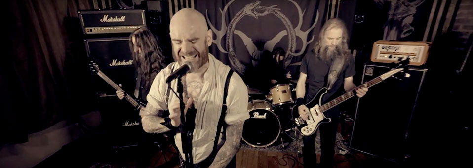 PRIMORDIAL releases video for new single 'To Hell Or The Hangman'!